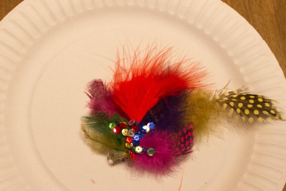 Final Feathery Fascinator