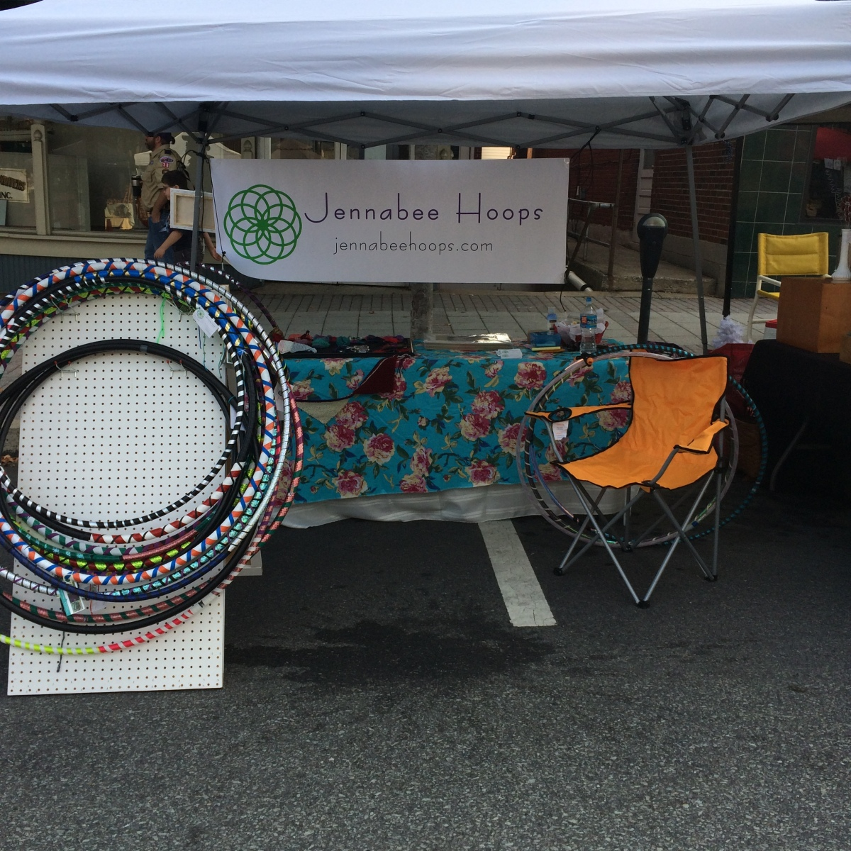 My booth at the Ephrata Arts and Crafts Fest