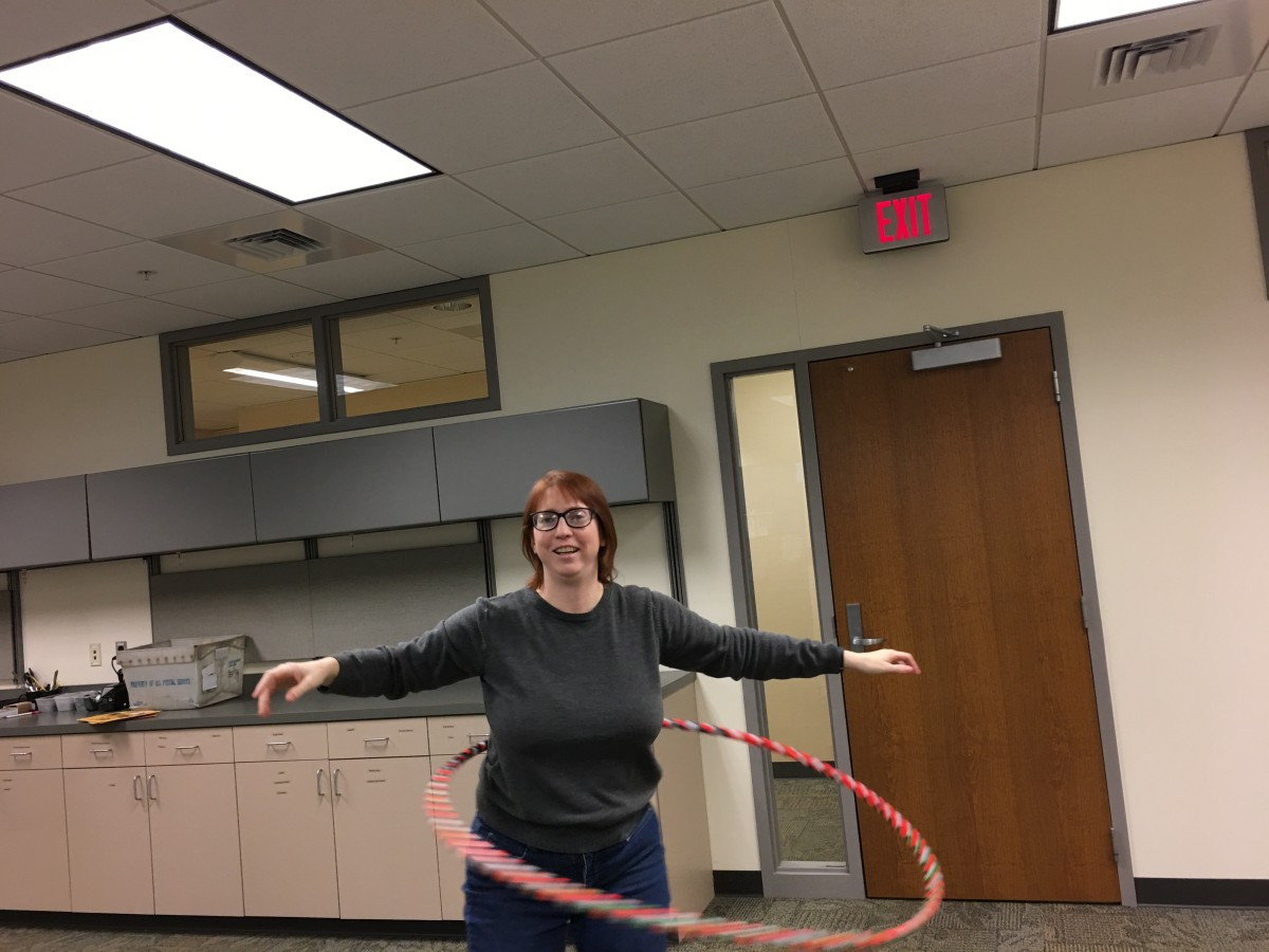 Last one of me hooping at work